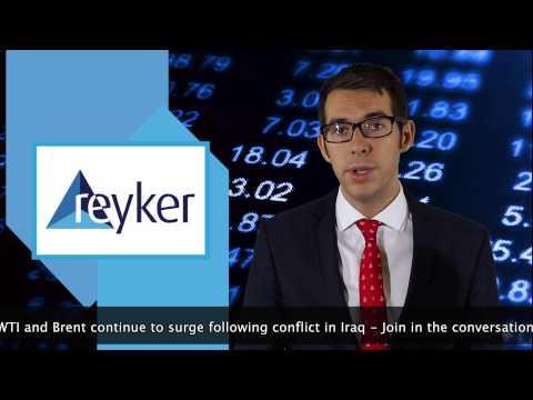 Reyker Trading Update - 17th June 2014