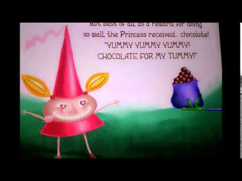 "A good story for kids ""Princess Chocolate"" reading by Indy"