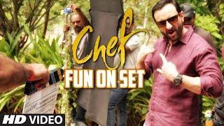 Sneak Peak To Movie Chef - Fun On Sets   Saif Ali Khan   Movie In Cinemas Now