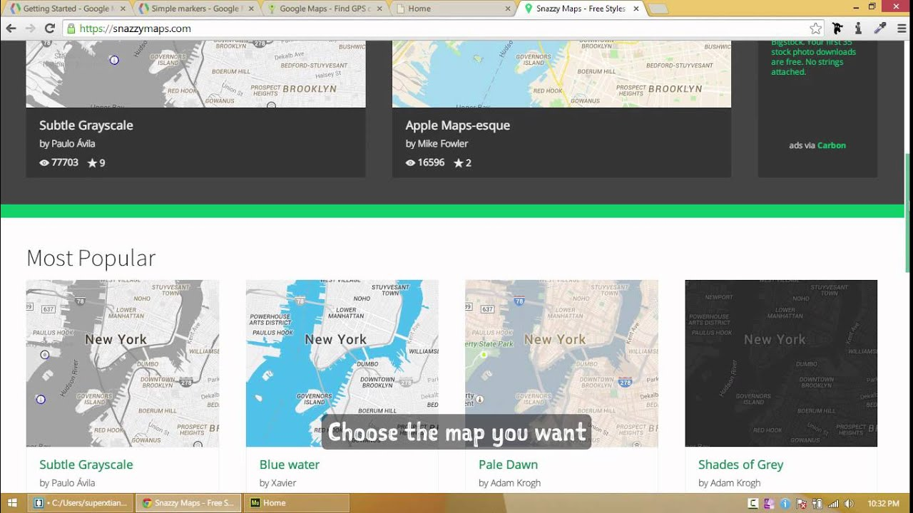 Adobe Muse CC Make Your Google Maps Look Awesome Using Snazzy Maps - How to change color of google map