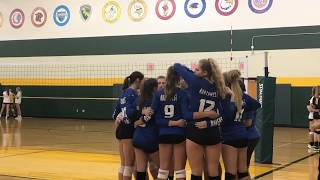 Highlights: ONW Volleyball vs. Shawnee Mission South   September 6, 2018