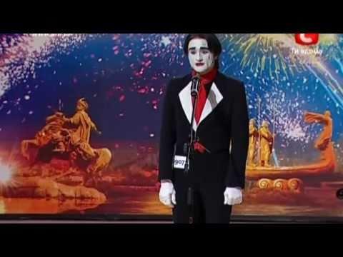 Видео, Украина мае талант 2  Киев  Александр Бабий