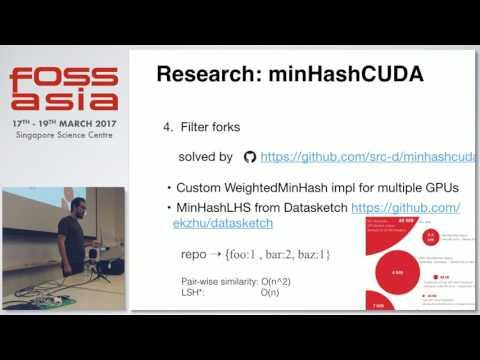 Machine Learning for source code analysis - Alexander Bezzubov - FOSSASIA Summit 2017
