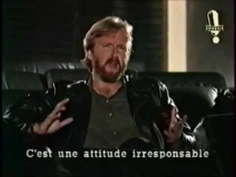 James Cameron, Luc Besson and Sam Raimi on French Sketch