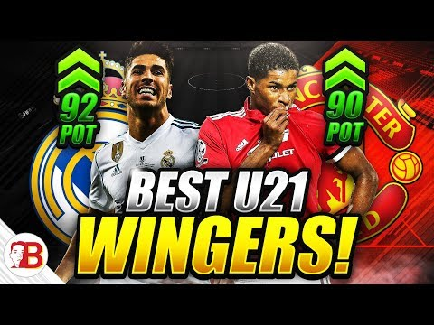 FIFA 18 Career Mode Best Young Wingers To Buy! U21 Wonderkids!