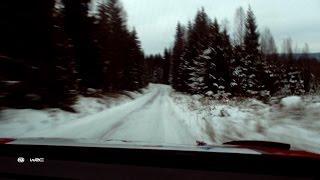 GoPro View: Rip Snowy Corners on the Rally Sweden Track w/ Craig Breen