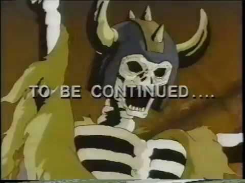 Inhumanoids clips (1986)