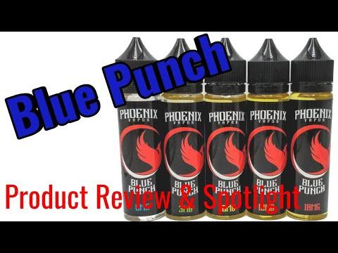 Phoenix Vapor Blue Punch E Juice - The best all day vape ever?