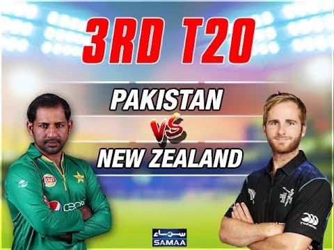 3rd T20 Live Streaming Pakistan Vs New Zealand | Live PTV Sports | Ten Sports Live 2018