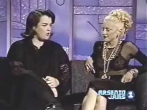 Rosie & Madonna Full Interview. PART ONE.