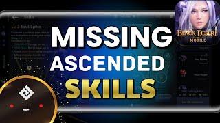 The 11th Skill for all Ascended Classes!  Black Desert Mobile
