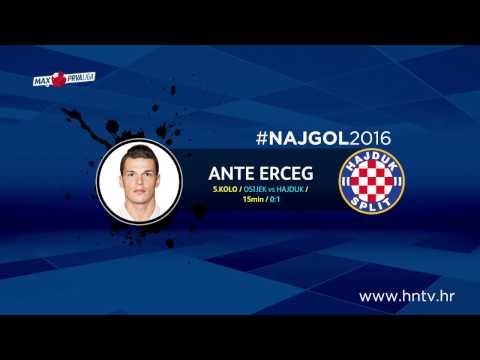#NAJGOL2016 polusezone: ANTE ERCEG