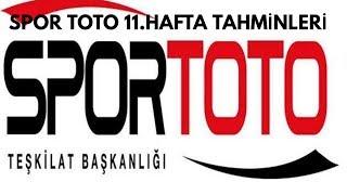 İddaa Tahminleri Spor Toto 11.Hafta/İddaabilirTV