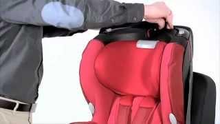 Maxi-Cosi Rubi - установка в автомобиль