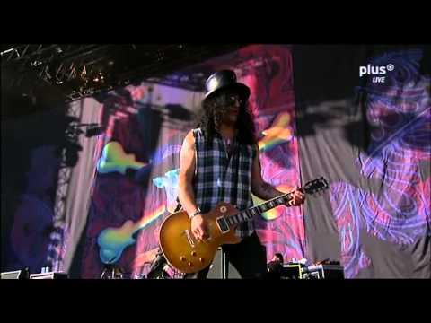 Slash & Myles Kennedy - Nightrain Live [HD] Rock am Ring 2010