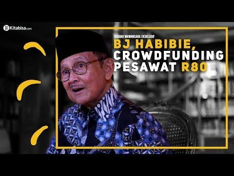 Wawancara Eksklusif: BJ Habibie tentang crowdfunding Pesawat R80