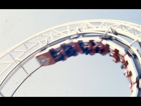 Revolution Roller Coaster Construction and Grand Opening - Libertyland