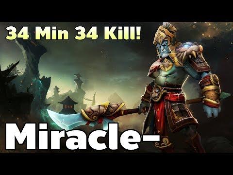 34 Min 34 Kill! Miracle- Phantom Lancer