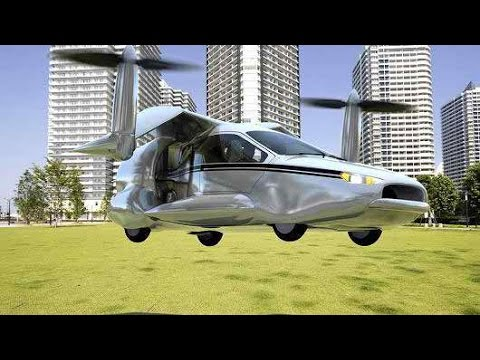 flying car traffic jam