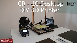 cr 10 3d desktop diy printer gearbest com