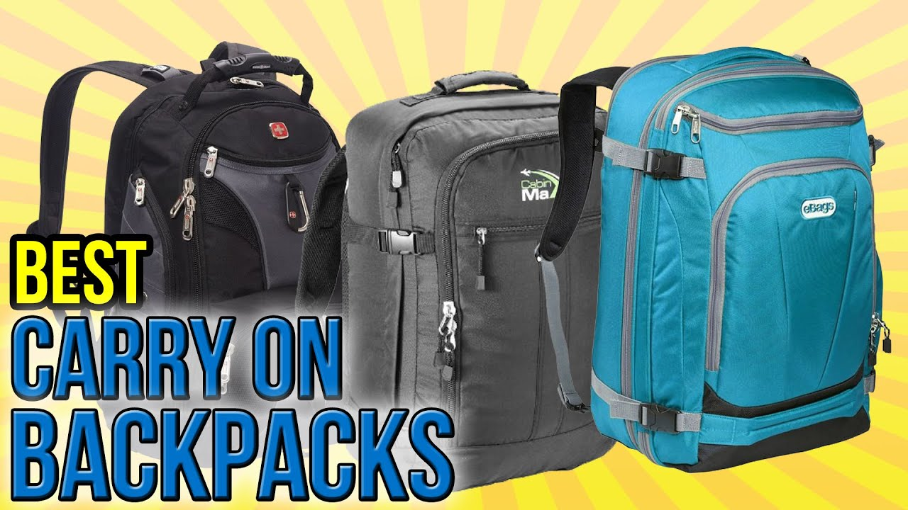 9 Best Carry On Backpacks 2016