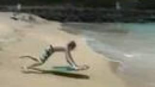 mishap on the beach