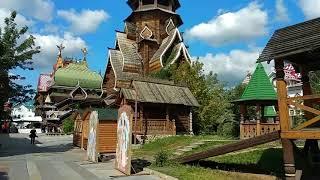 Смотреть видео Куда сходить в Москве? Парки Москвы. Измайловский кремль. онлайн