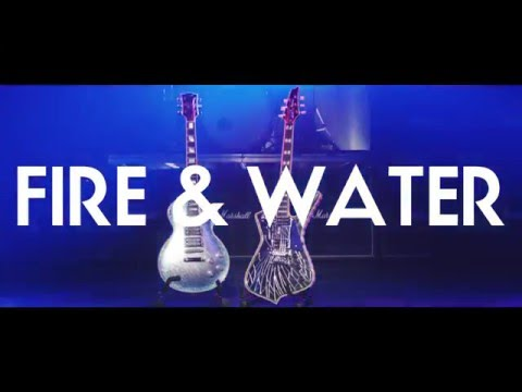 """ACE FREHLEY feat. Paul Stanley """"Fire And Water"""" (Official Video)"""