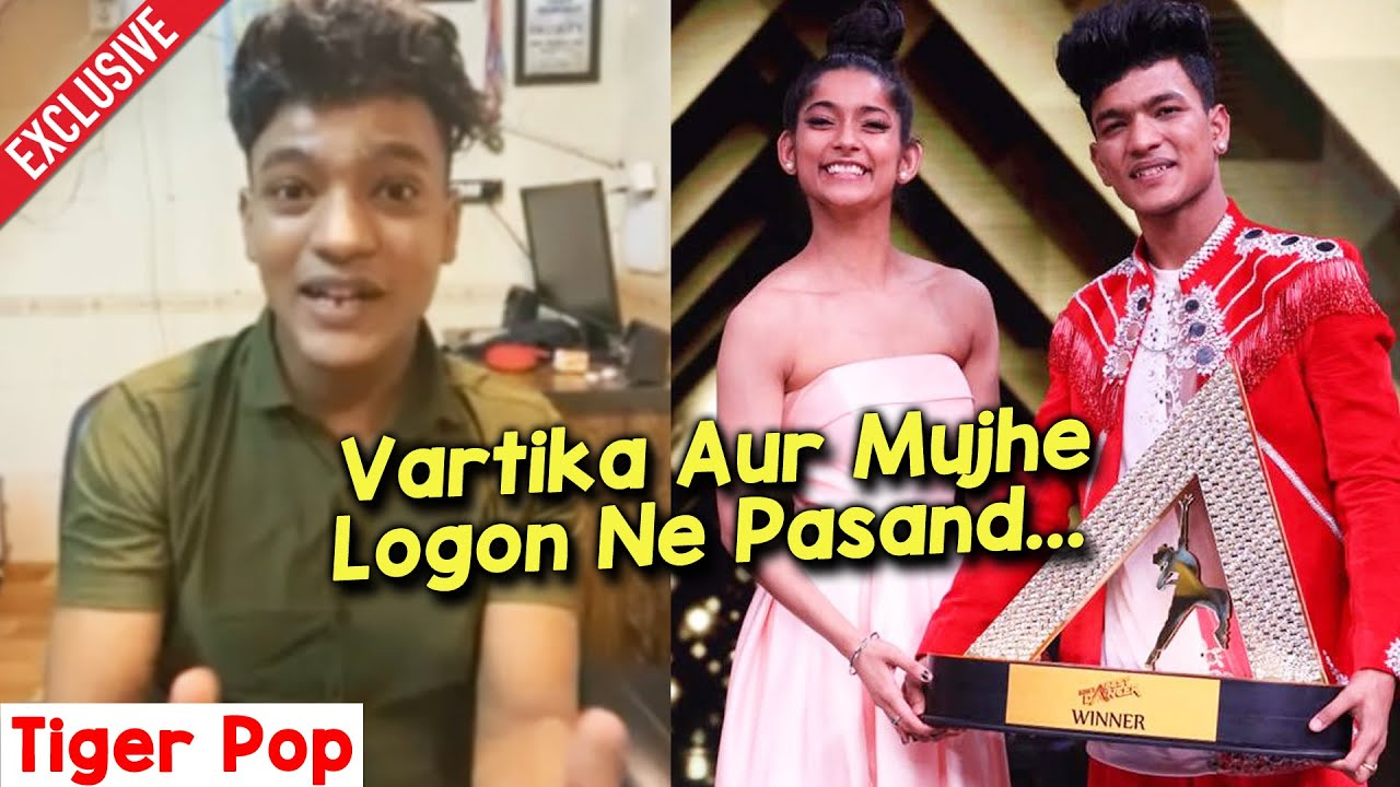 India's Best Dancer Winner Tiger Pop Ne Vartika Jha Ke Bare Ke Kya Kaha? | Super Dancer 4 Guru