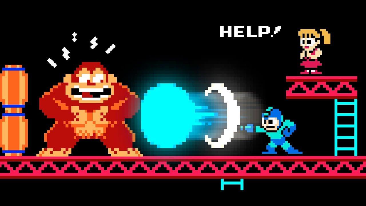 Mega Man vs Donkey Kong