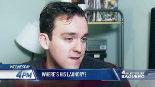 "News 4 New York: ""Better Get Baquero: Laundry App Lost Clothes"" promo"