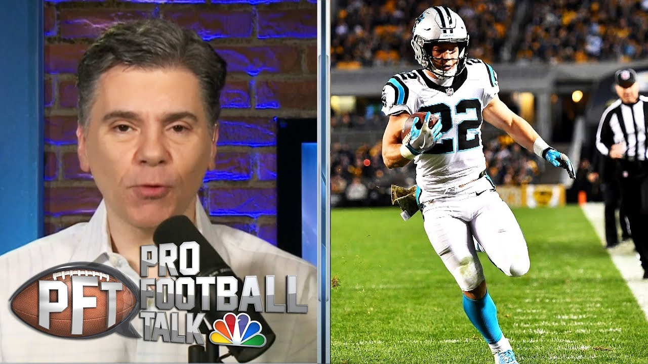 Why Panthers gave Christian McCaffrey huge extension | Pro Football Talk | NBC Sports