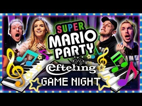 SUPER MARIO PARTY REMIX met Joost, Dionne, Milan en Link | Efteling Game Night #6