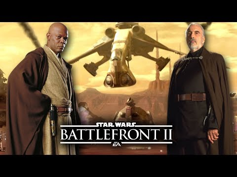 Star Wars Battlefront 2 - Battle of Geonosis and How It Could Work!