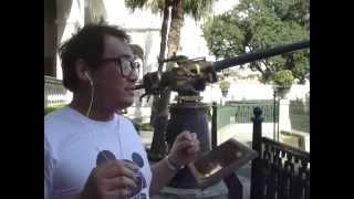 big gun noon and signal cannon hotchkiss 6 pounder style fm nineteenth century hong kong