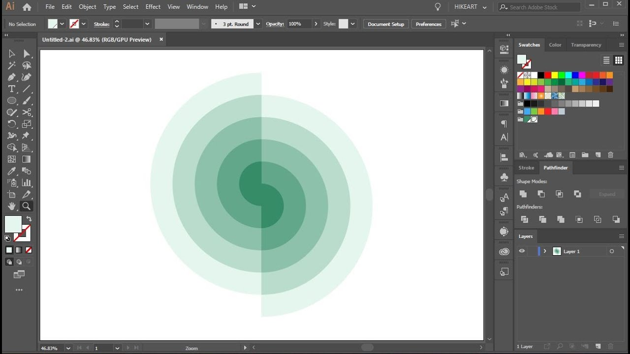How to Creat a Spiral S in Adobe Illustrator
