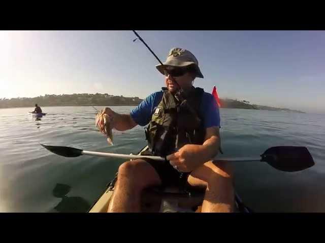 Fishing Olivers Hill on my Native Heritage Redfish 12 Kayak