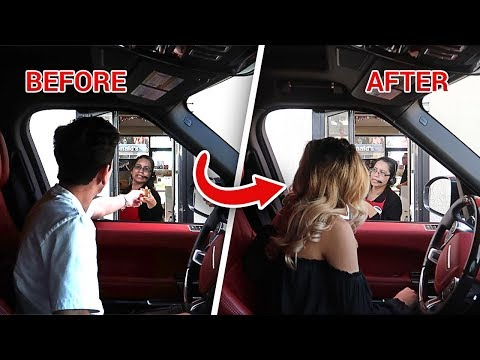 DRIVE THRU PERSON SWAP PRANK! **crazy freakout** | FaZe Rug