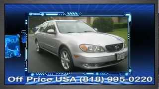 2002 Infiniti I-35 sherman Oaks CA - BBD, off price USA, Used car dealer sherman Oaks