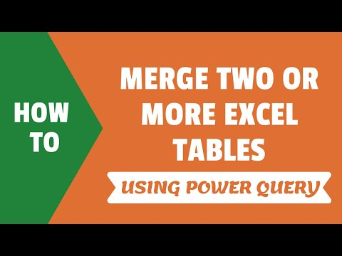Merge Tables in Excel Using Power Query (Easy Step-by-Step