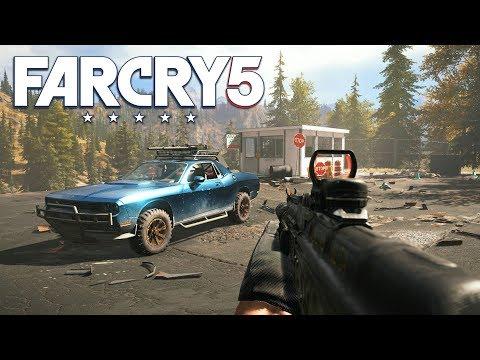 FAR CRY 5 FREE ROAM & SIDE MISSIONS! (Far Cry 5 Gameplay)