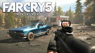 FAR CRY 5 FREE ROAM & SIDE MISSIONS! (Far Cry 5 Gameplay)