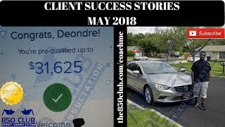 May 2018 Client Success Stories. If They Can Do It, So Can You! - Real People. Real Results