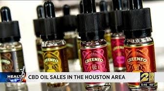 CBD oil sales in the Houston area