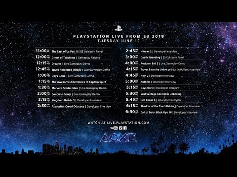 PlayStation Live From E3 Day 1 Mp3