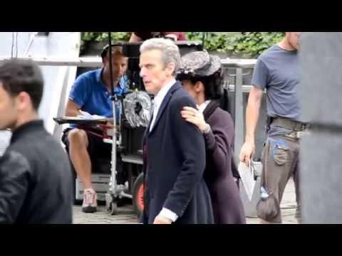 Doctor Who Filming Season 8 in London