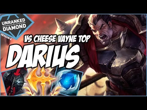 DARIUS VS CHEESE VAYNE TOP: MIDNIGHT EDITION - Unranked to Diamond - Ep. 83 | League of Legends