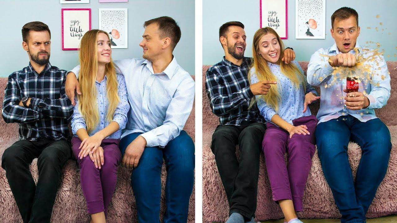 12 фактов об отношениях в паре / Лайфхаки для парня и девушки