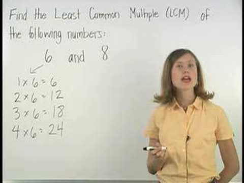 LCM - Least Common Multiple - MathHelp.com