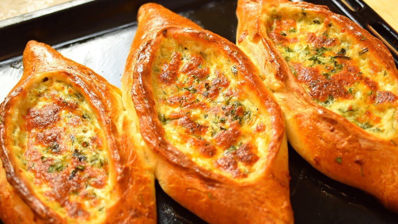 #Хачапури по - Аджарски. Как приготовить Аджарские хачапури. КНОПКА от YouTube  Мамины рецепты